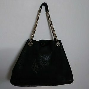 GUCCI Bags - GUCCI SOHO LEATHER TOTE